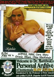 Dr. Moretwat's Homemade Porno: Blow Job Flix Vol. 4 Porn Video