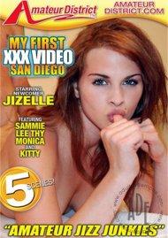 My First XXX Video: San Diego Porn Video