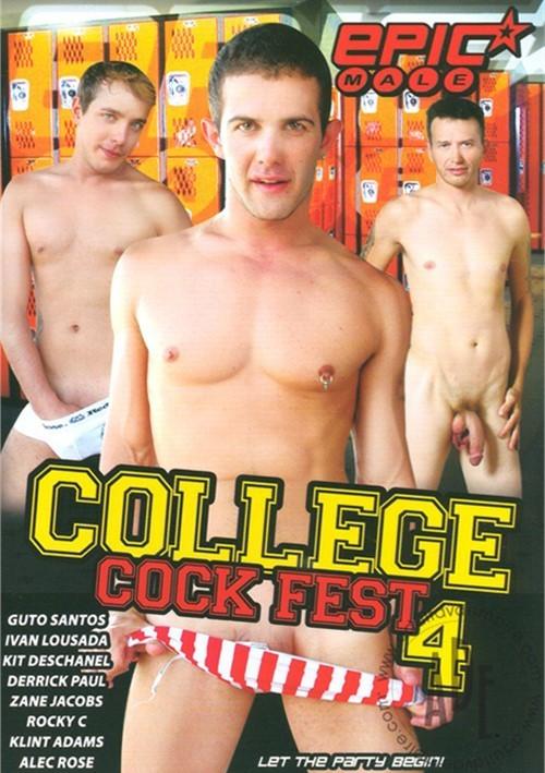 College Cock Fest 4 Boxcover