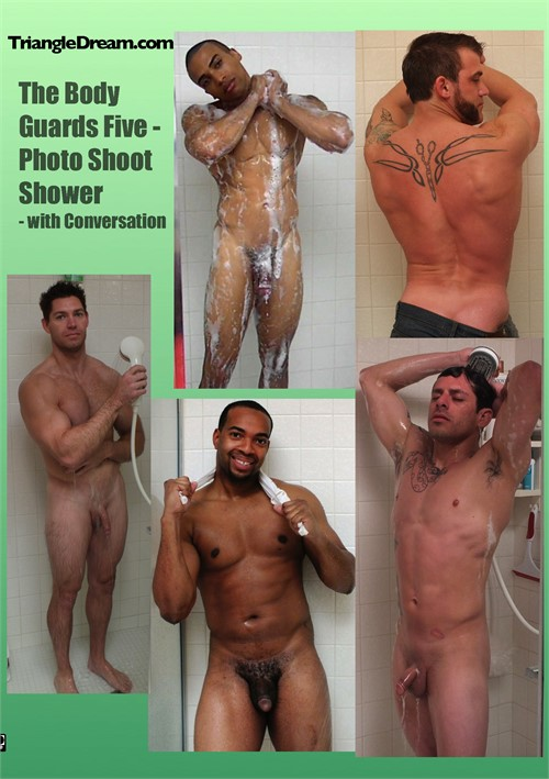 Body Guards Five, The: Photo Shoot Shower - with Conversation Boxcover