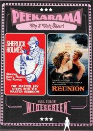 Peekarama: Sherlick Holmes / Reunion porn DVD from Vinegar Syndrome.