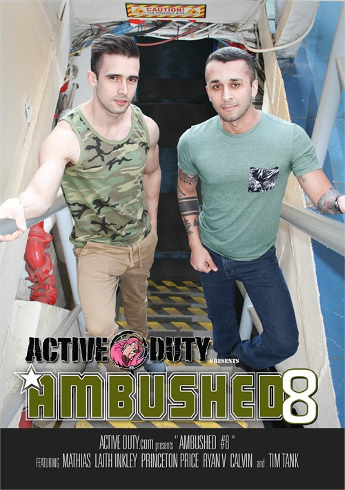 Ambushed 8 Boxcover