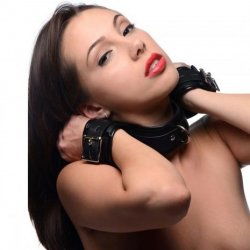 Strict Neck to Wrist Restraint Sex Toy