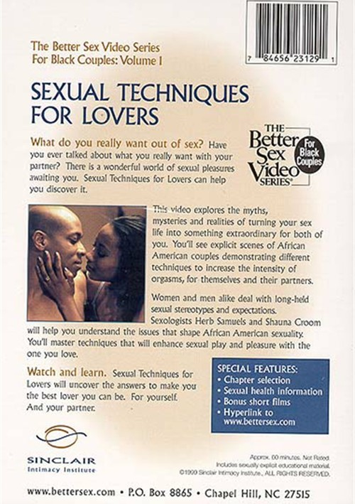 New sex techniques for your marriage