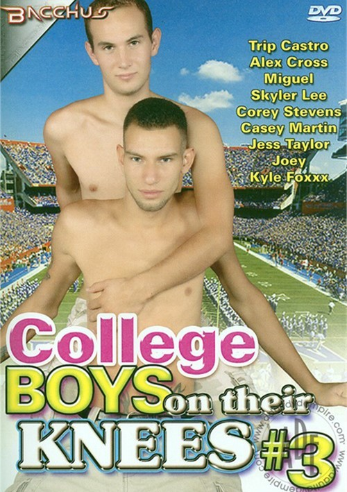 College Boys On Their Knees 3 Boxcover