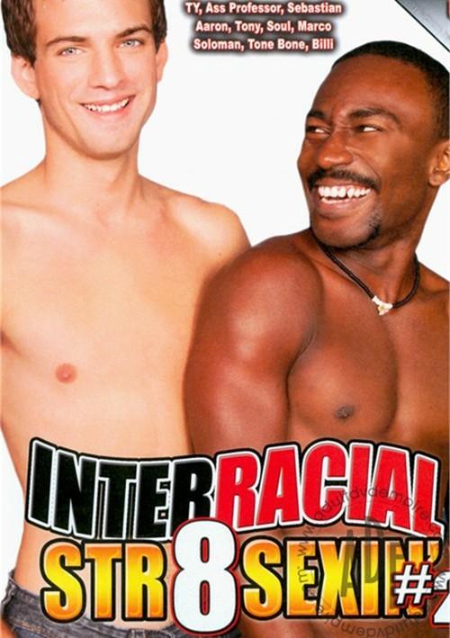 Interracial Str8 Sexin' 2 Boxcover