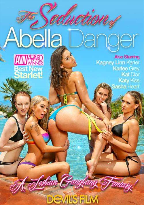 Seduction of Abella Danger, The Boxcover