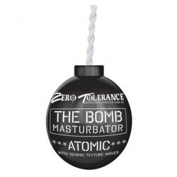 Zero Tolerance The Bomb Atomic Masturbator - Black Sex Toy