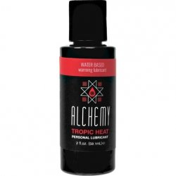 Alchemy Tropic Heat Water Based Warming Lube - 2oz.