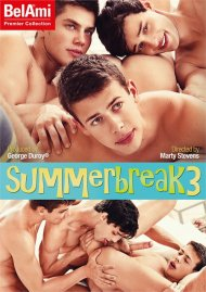 Summer Break 3 gay porn DVD from Bel Ami
