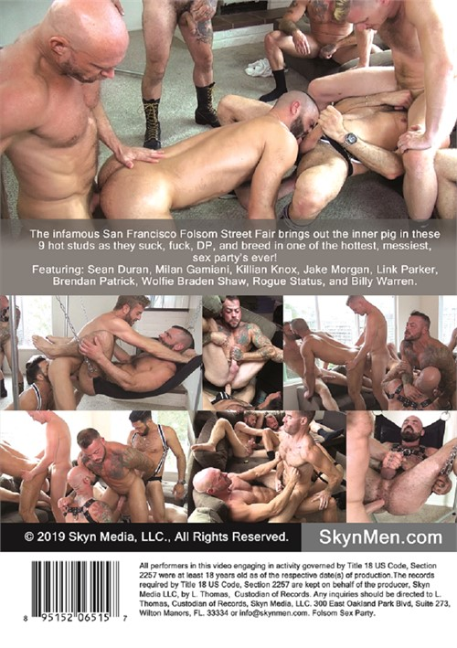 Folsom Sex Party Cover Back