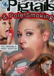 Pigtails & Pole Smoking Porn Video