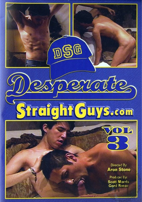 DesperateStraightGuys Vol. 3 Boxcover