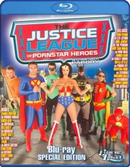 Justice League Of Pornstar Superheroes Blu-ray Movie