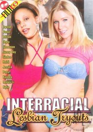 Interracial Lesbian Tryouts image