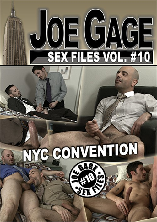 Joe Gage Sex Files Vol. 10 Boxcover
