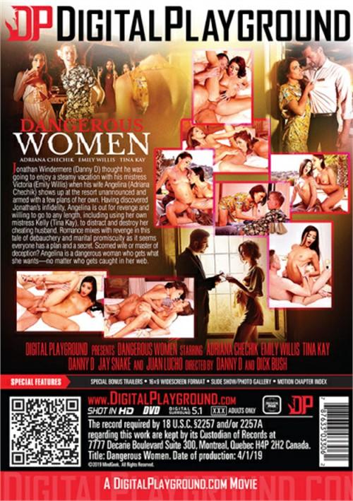 Back cover of Dangerous Women