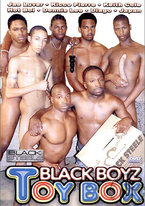 Black Boyz Toy Box Boxcover