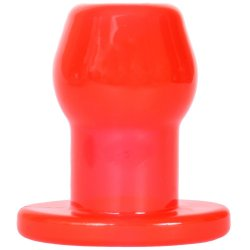 Perfect Fit: Tunnel Plug Medium - Red Sex Toy
