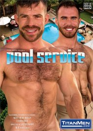 Pool Service gay porn DVD from TitanMen.