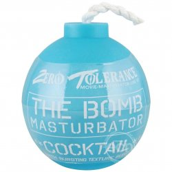 Zero Tolerance The Bomb Cocktail Masturbator - Blue sex toy from Zero Tolerance Toys.