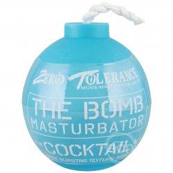 Zero Tolerance The Bomb Cocktail Masturbator - Blue Sex Toy