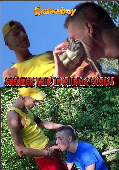 Sneaker Trip in Public Forest Boxcover