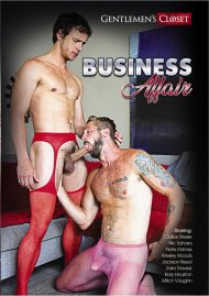 Business Affair gay porn DVD from Gentlemen's Closet