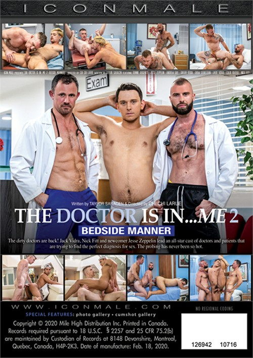 The Doctor Is In Me 2 Bedside Manner Cover Back