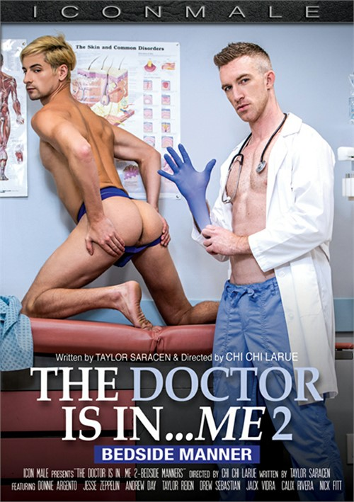 The Doctor Is In Me 2 Bedside Manner Cover Front