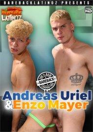 Andreas Uriel & Enzo Mayer porn video from Bareback Latinoz Clips.