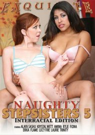 Naughty Stepsisters 5: Interracial Edition Porn Video