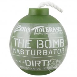 Zero Tolerance The Bomb Dirty Masturbator - Green