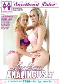 Lesbian Analingus 11 DVD porn movie from Sweetheart Video.