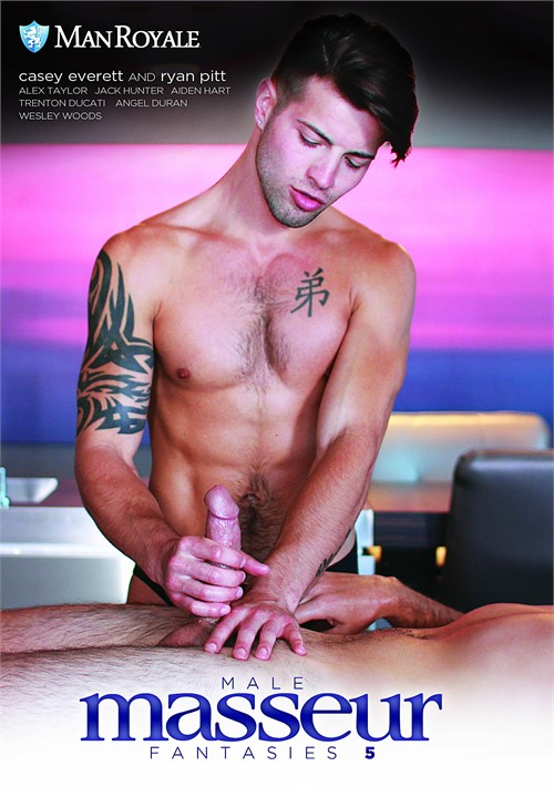 Male Masseur Fantasies 5 Boxcover