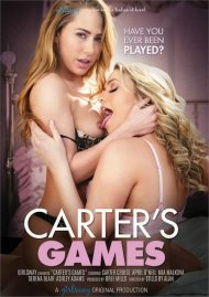 Carter's Games DVD porn movie from Girlsway.
