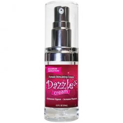 Dazzle Female Stimulating Cream - .5oz Sex Toy