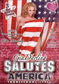 Gia Darling Salutes America Transsexual Style Porn Video