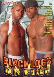 Black Logs On Fire image