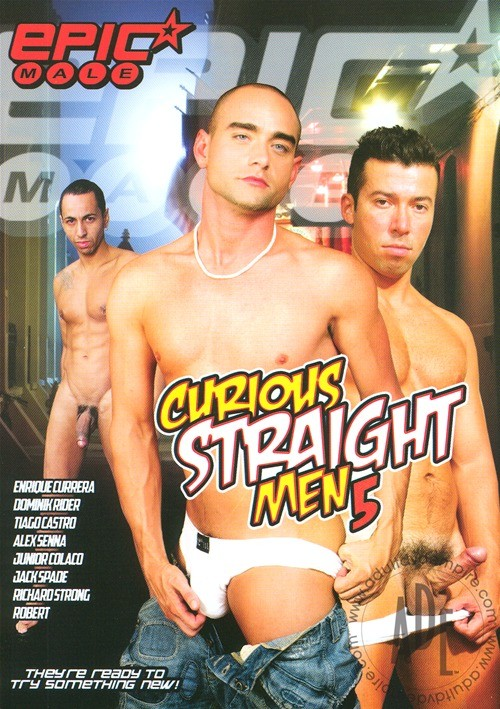 Curious Straight Men 5 Boxcover