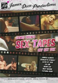 James Deen's Sex Tapes: Off Set Sex Porn Video