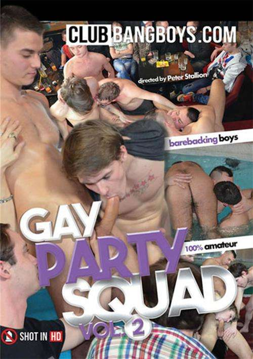 Gay Party Squad Vol. 2 Boxcover