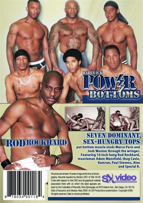 Bareback Power Bottoms Cover Front