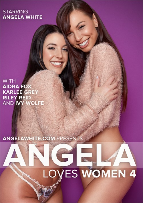Angela White stars in Angela Loves Women 4.
