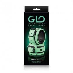 Glo Bondage Glow In The Dark Ankle Cuffs Image