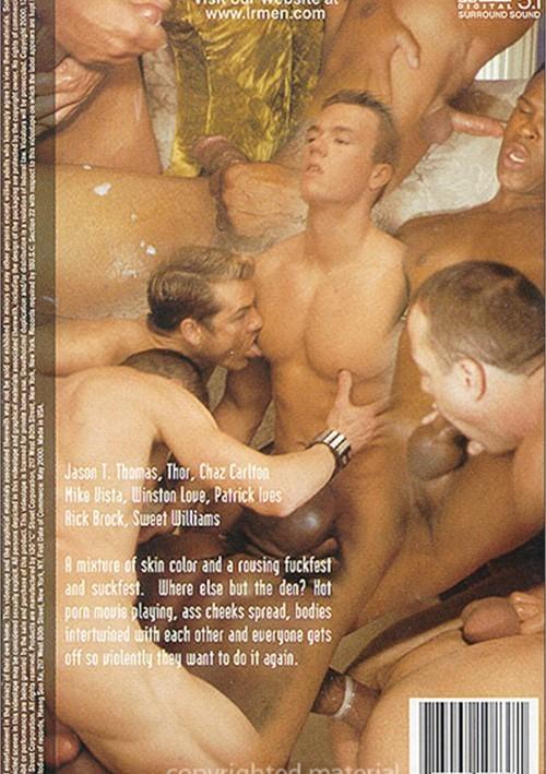 Black And White Orgy Porn - Black & White Orgy In The Den