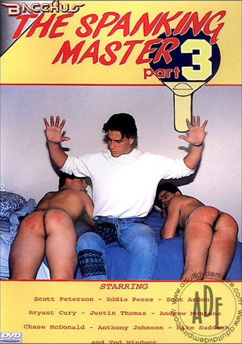 Spanking Master Part 3, The Boxcover