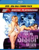 Dont Fuck My Sister (DVD + Blu-ray Combo) Blu-ray Movie