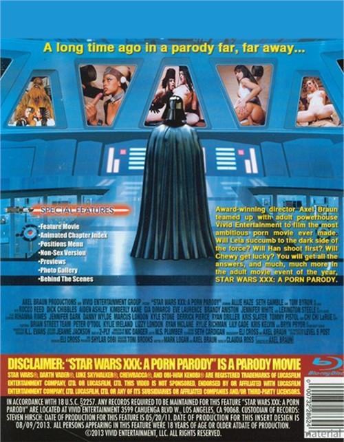 Star wars xxx a porn parody movie