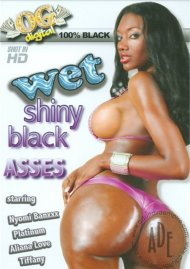 Wet Shiny Black Asses
